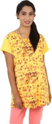 Kriti Western Maternity Geometric Print Women's Tunic
