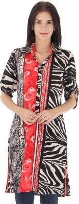 Just In Time Printed Women's Tunic