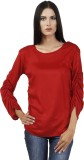 Faireno Solid Women's Tunic