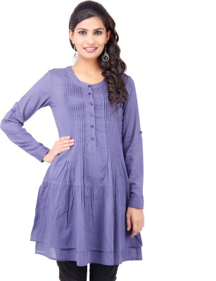 Pear Blossom Solid Women's Tunic