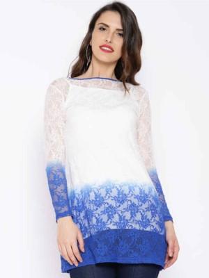 Ira Soleil Self Design Women,s Tunic