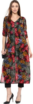 Color Cocktail Printed Women's Tunic