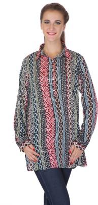 My Addiction Geometric Print Women's Tunic