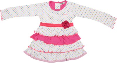 Buzzy Printed Baby Girl's Tunic
