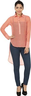 Kwardrobe Checkered Women's Tunic