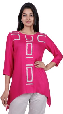 Pamposh Creations Self Design Women's Tunic
