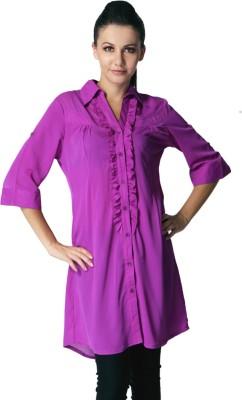 Trendy Divva Solid Women,s Tunic