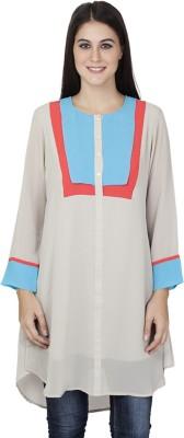 Tat Tvam Asi Solid Women's Tunic