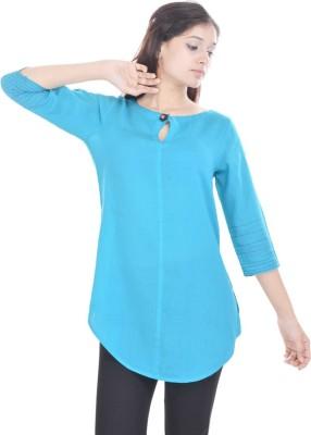 Abhiprai Solid Women's Tunic