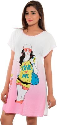 Feminine Animal Print Women's Tunic