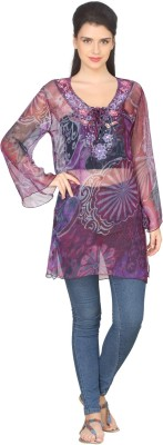 True Fashion Embroidered Women's Tunic