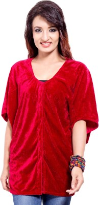 Tops and Tunics Solid Women's Tunic