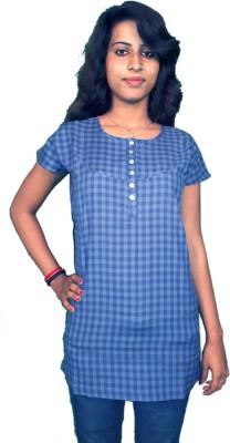 Miraaya Checkered Women's Tunic