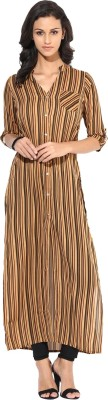 Raindrops Striped Women's Tunic