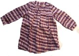 Textures Fashion Printed Girls Tunic