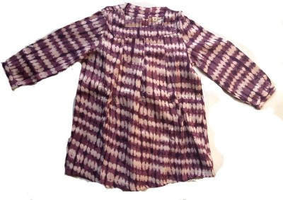 Textures Fashion Printed Girl's Tunic