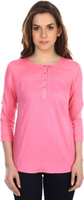 Colors Couture Solid Women's Tunic
