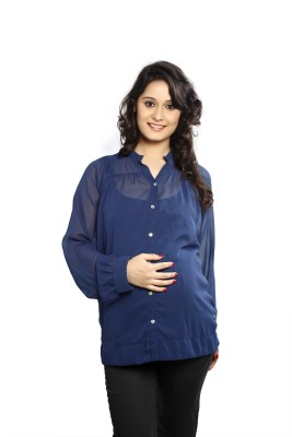 Nine Maternity Wear Solid Women's Tunic