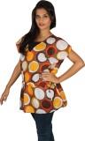 True Fashion Self Design Women's Tunic