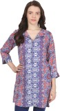 Pear Blossom Floral Print Women's Tunic