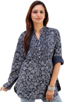 Urban Religion Floral Print Women's Tunic