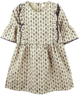 Oye Printed Girl's Tunic
