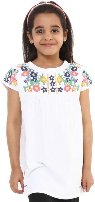 Oxolloxo Embroidered Girl's Tunic