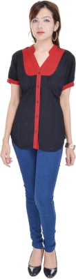 Msons Solid Women's Tunic