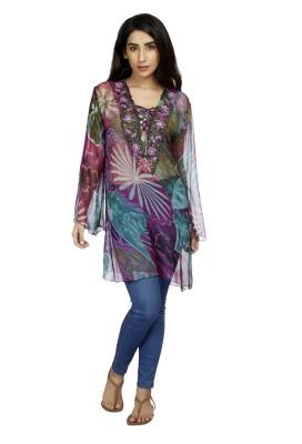 True Fashion Floral Print Women's Tunic