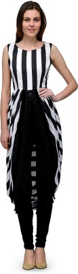 Natty India Striped Women's Tunic