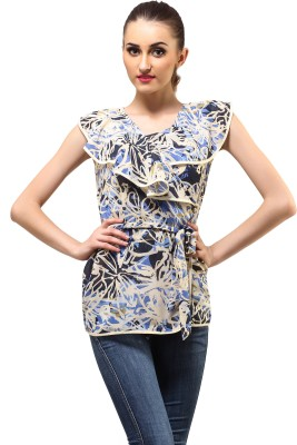 Ladybug Floral Print Women's Tunic
