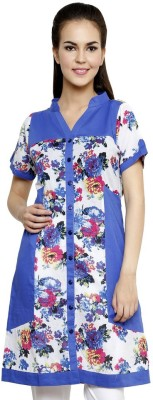 Anekaant Floral Print Women's Tunic