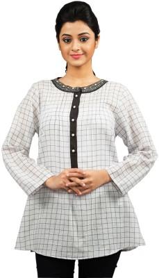 Moda Vastra Checkered Women's Tunic