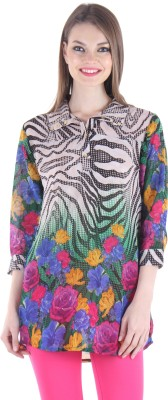 Hotberries Floral Print Women's Tunic
