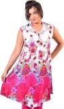 Glimmerra Floral Print Women's Tunic