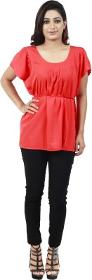 Maggie Solid Women,s Tunic