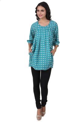 Silk Weavers Polka Print Women's Tunic
