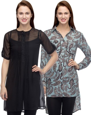Primo Knot Solid Women's Tunic