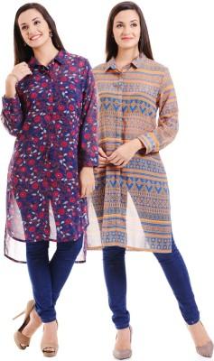 Hitch-Ki Printed Women's Tunic