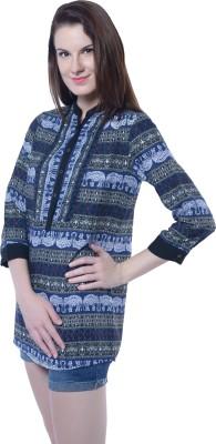 Florrie Fusion Animal Print Women's Tunic