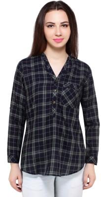 FashionFrame Checkered Women's Tunic