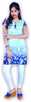 Topstitch Fashions Printed, Self Design, Woven Women's Tunic