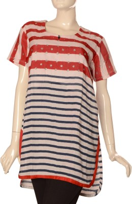 Jupi Striped Women's Tunic