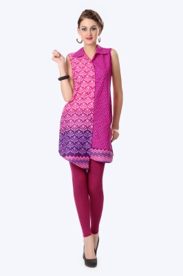 Glam & Luxe Printed Women's Tunic