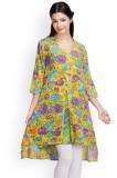 Famous Floral Print Women's Tunic
