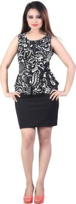 Bfly Women's Tube Black Dress