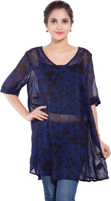 Goodwill Impex Floral Print Women's Tunic