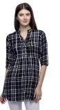 One Femme Checkered Women's Tunic