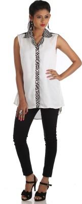 R Factor Geometric Print Women's Tunic