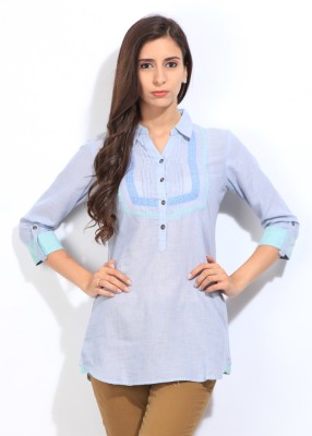 STYLE QUOTIENT BY NOI Solid Women's Tunic